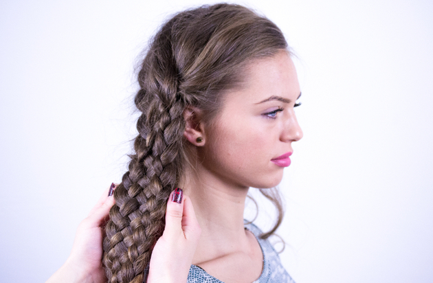 7 Strand Braid Tutorial  | Katniss Everdeen Hairstyle Video
