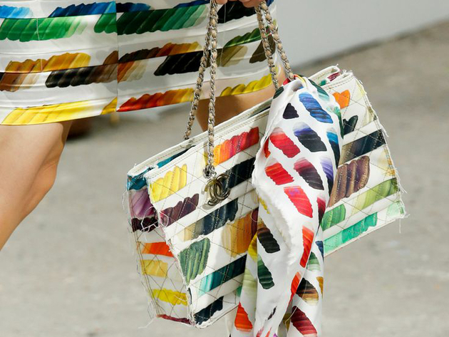 Printed Bag Spring 2014 Chanel