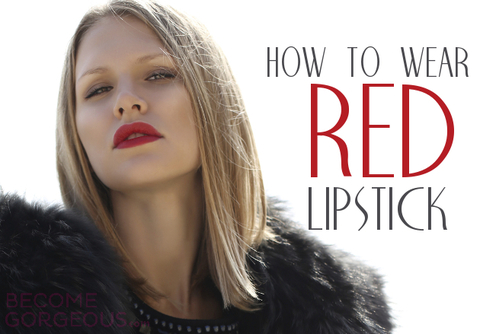 The Best Outfits that Go with Red Lipstick