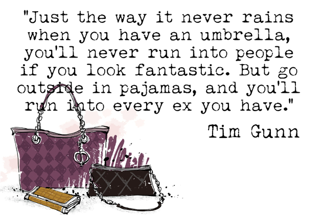 Tim Gunn Fashion Quote