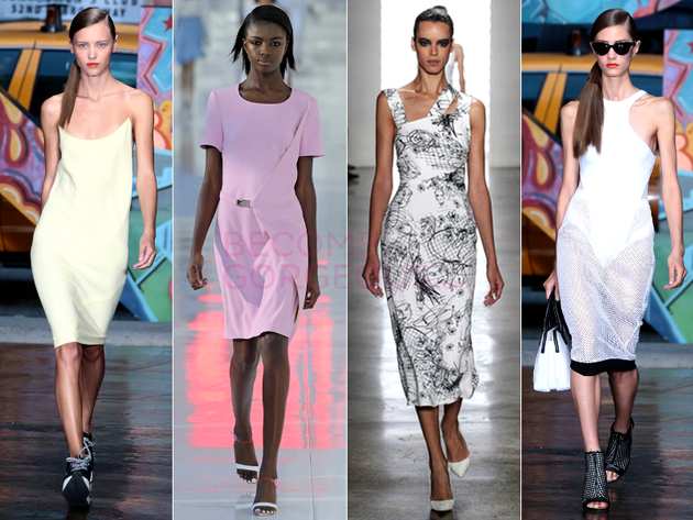 Sheath Dress Spring 2014 Trend