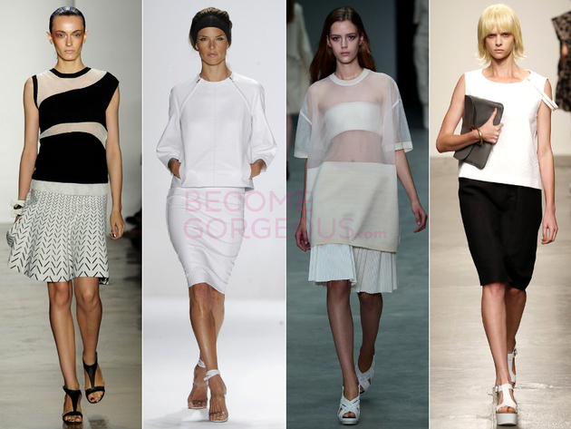 Shift Blouse Spring 2014 Trend