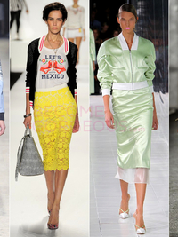 Bomber Jackets Spring 2014 Trend