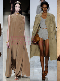 Earth Tones Spring 2014 Trend