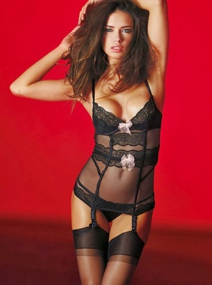 Victorias Secret Valentines Day 2014 Lingerie Look  (15)