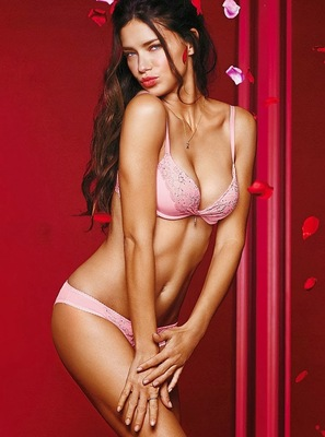 Victorias Secret Valentines Day 2014 Lingerie Look  (17)