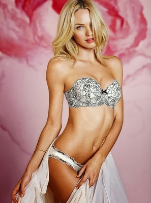 Victorias Secret Valentines Day 2014 Lingerie Look  (20)