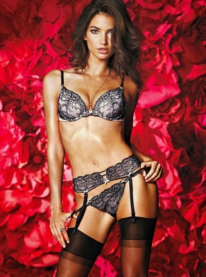 Victorias Secret Valentines Day 2014 Lingerie Look  (4)