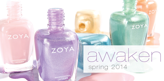 Zoya Awaken Spring 2014 Nail Polish Collection