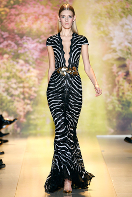Zuhair Murad Couture Spring 2014 Look  (1)