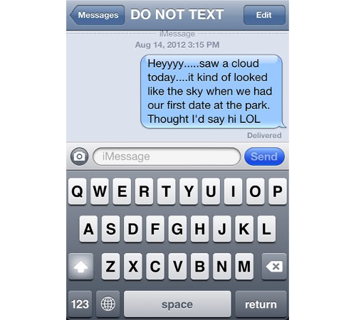 Dont Text Your Ex