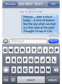 10 Things You Should Never Text Your Ex