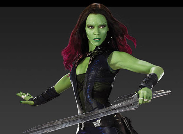 Gamora Guardians Of The Galaxy Halloween Costume