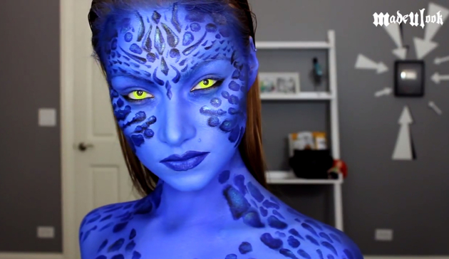 Mystique Halloween Makeup