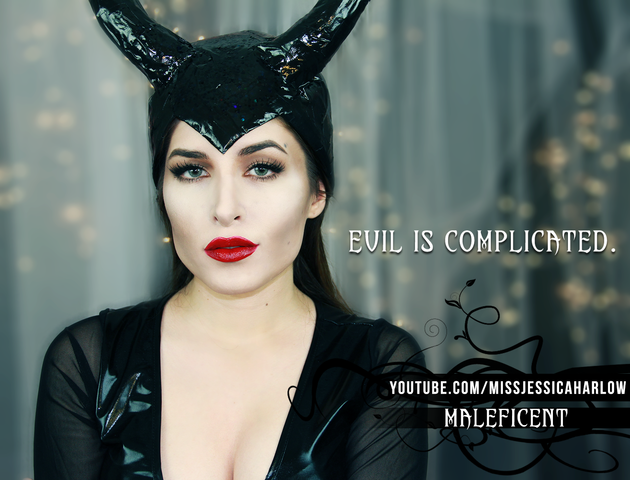 Maleficent Makeup For Halloween