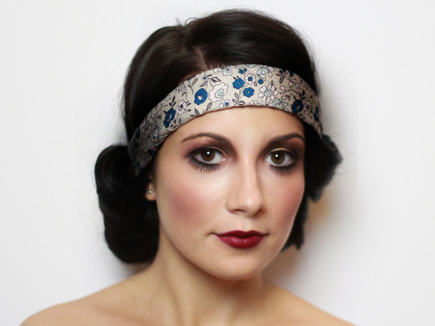 20s Flapper Halloween Makeup 20s Makeup Tutorial - 20s-makeup