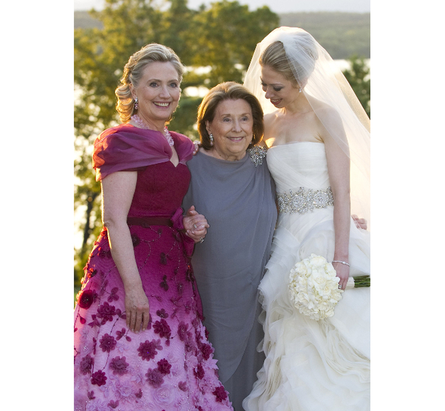 Hillary Clinton Dress At Chelsea Clinton Wedding