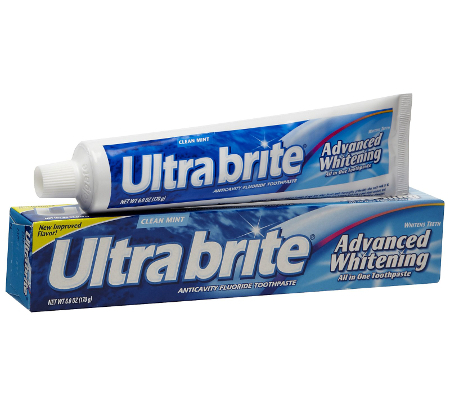 Ultra Brite Advanced Whitening Toothpaste