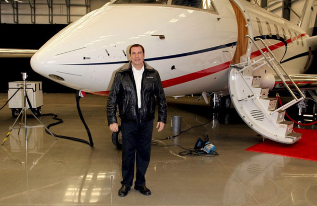 John Travolta Private Jet
