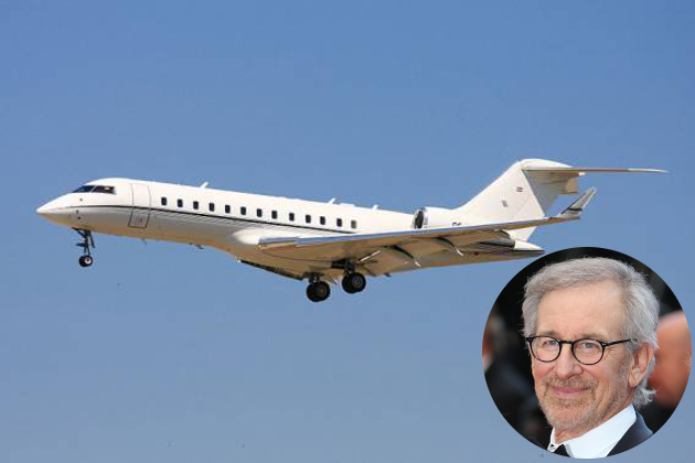 Steven Spielberg Private Jet