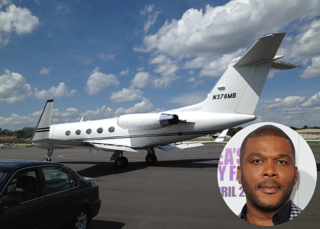 Tyler Perry Private Jet
