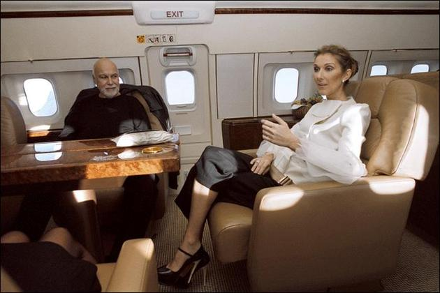 Celine Dion Private Jet