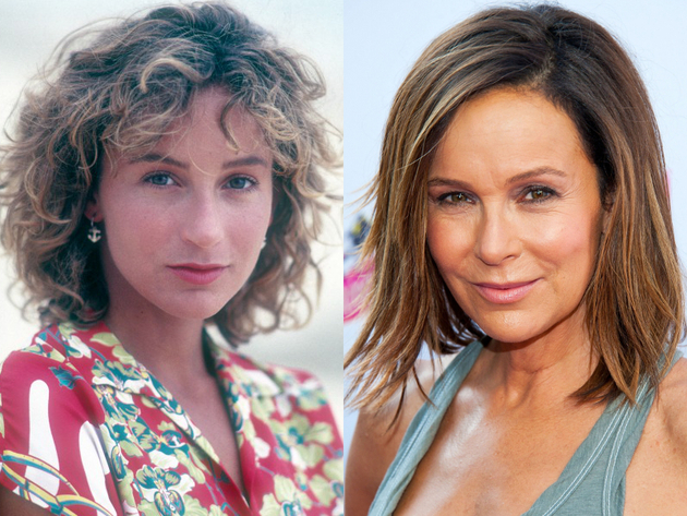 Jennifer Grey After Plastic Surgery