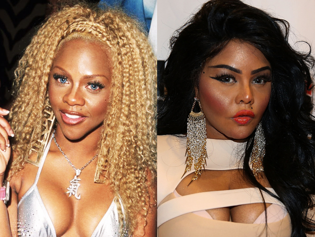Lil' Kim After Plastic Surgery