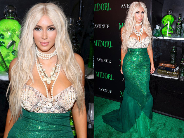Kim Kardashian Mermaid Halloween Costume