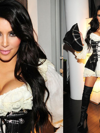 From Sexy to Slutty: Kim Kardashian's Halloween Costumes