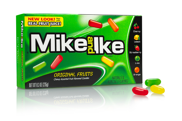 Mike   Ike Calories