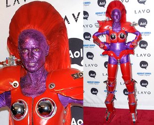 Throwing annual Halloween parties since 2000, Heidi Klum always finds a shocking idea to impress her guests and fans. See some of her best Halloween costumes.