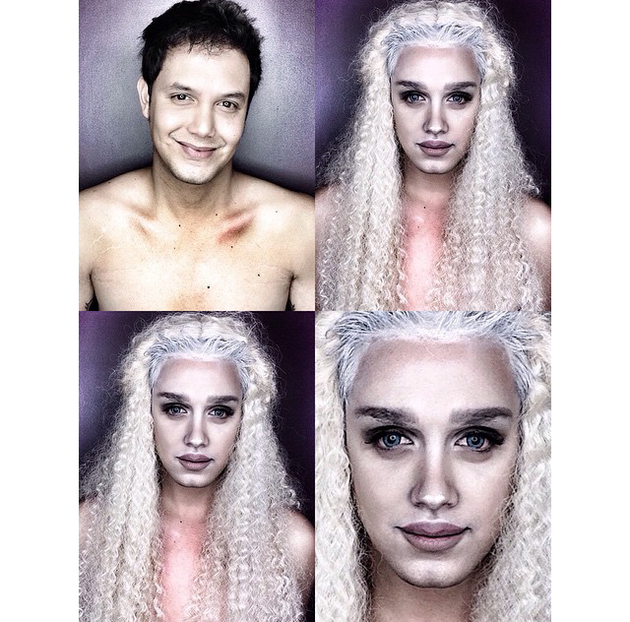 Man Transforms Into Daenerys Targaryen With Makeup