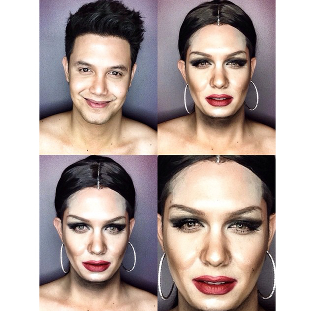 Man Transforms Into Jessie J With Makeup