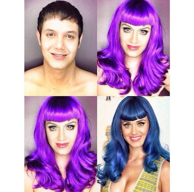 Man Transforms Into Katy Perry With Makeup