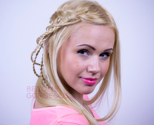 Try a cool new version of the waterfall braid! Check out how in this tutorial!
