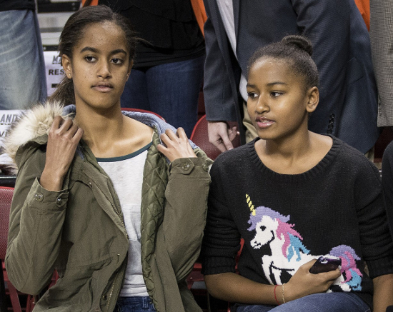 Sasha And Malia Obama Influential Teens