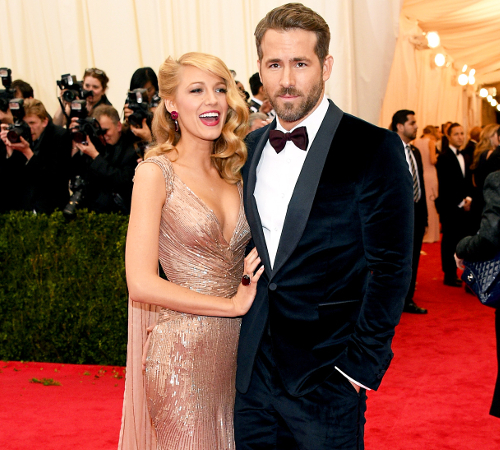 Blake Lively And Ryan Reynolds Stylish Couple