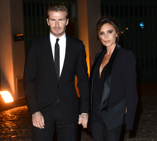 David And Victoria Beckham Stylish Couple
