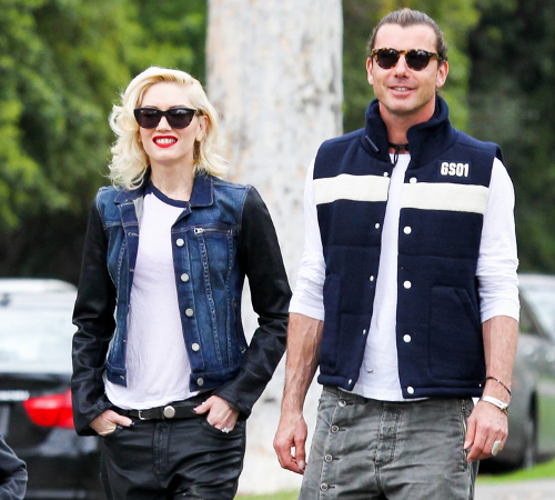 Gwen Stefani And Gavin Rossdale Stylish Couple
