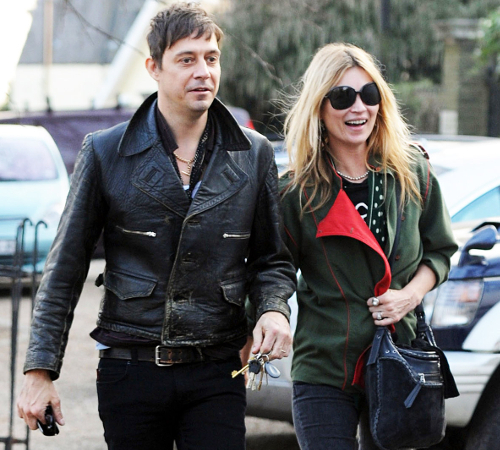 Kate Moss And Jamie Hince Stylish Couple