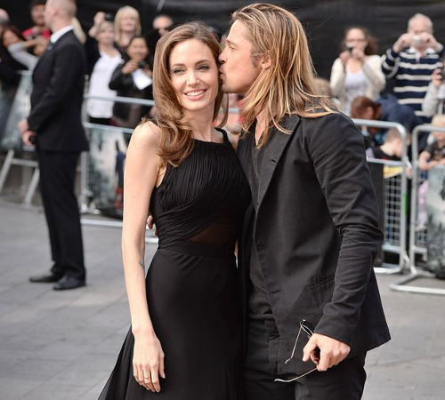 Angelina And Brad Pitt Stylish Couple