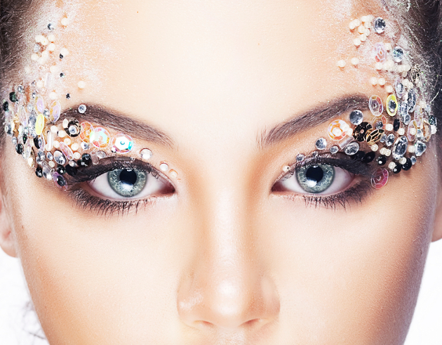 Embellished Raver Eye Makeup