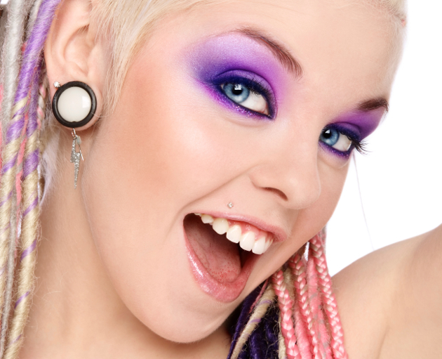 Purple Raver Eye Makeup