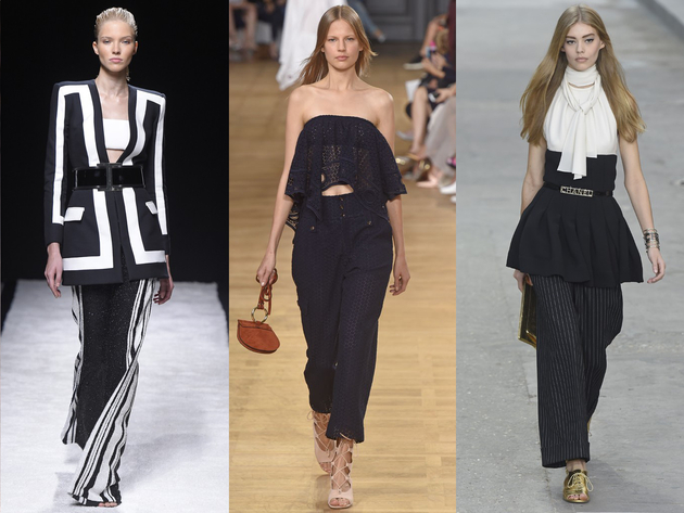 Wide Leg Pants Spring 2015 Trends