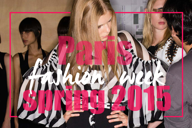 Spring 2015 Trends from Paris Fashion Week