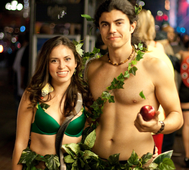 Adam And Eve Couples Halloween Costume