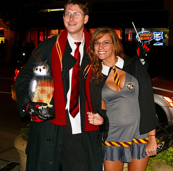 Sexy Childrenu0027s Literature or Movies Characters. Harry Potter And Sexy Hermione Couples Halloween  sc 1 st  BecomeGorgeous.com & Worst Halloween Couples Costume Ideas.