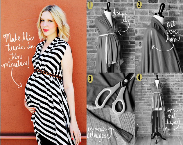 Pictures 10 Best Maternity Clothes Hacks Quick Maternity Tunic