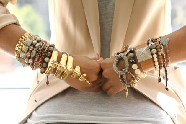 Gold And Silver Jewelry Together